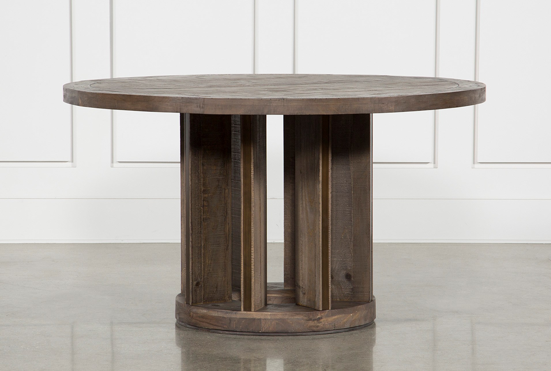 Stupendous Lassen Round Dining Table Home Remodeling Inspirations Genioncuboardxyz