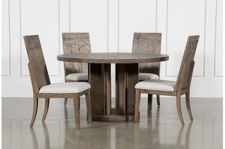 Lassen 5 Piece Round Dining Set - Main