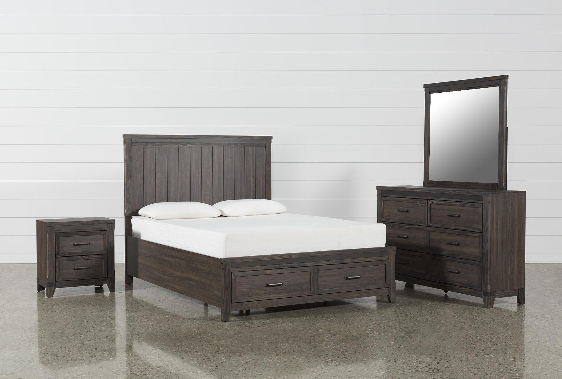 Hendricks 4 Piece California King Bedroom Set   360