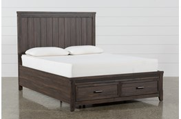 Hendricks Eastern King Platform Bed With Storage
