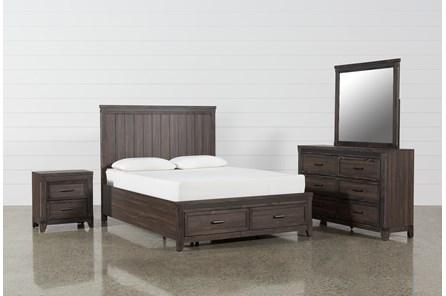 Hendricks 4 Piece Eastern King Bedroom Set
