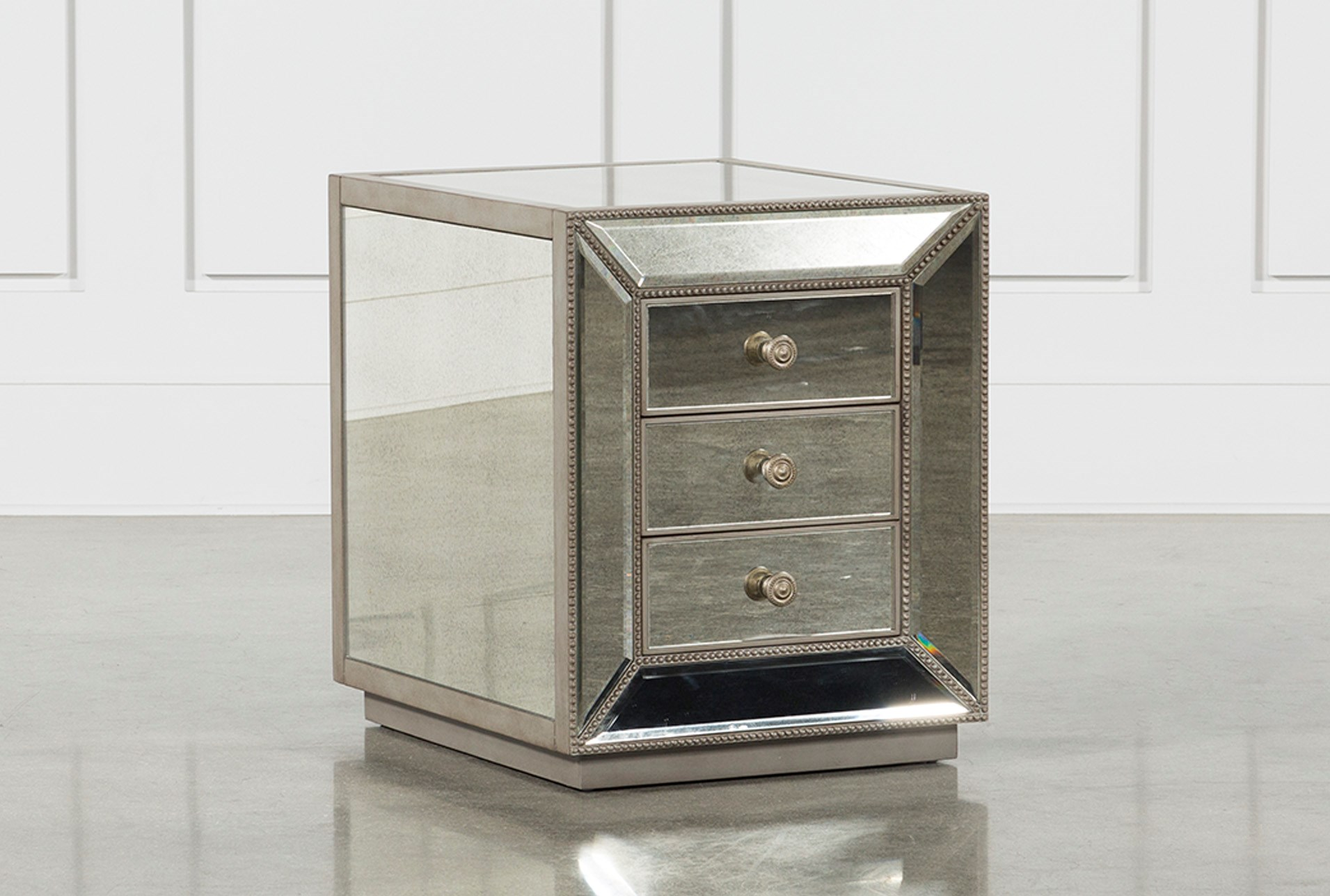 Cara Storage End Table Living Spaces