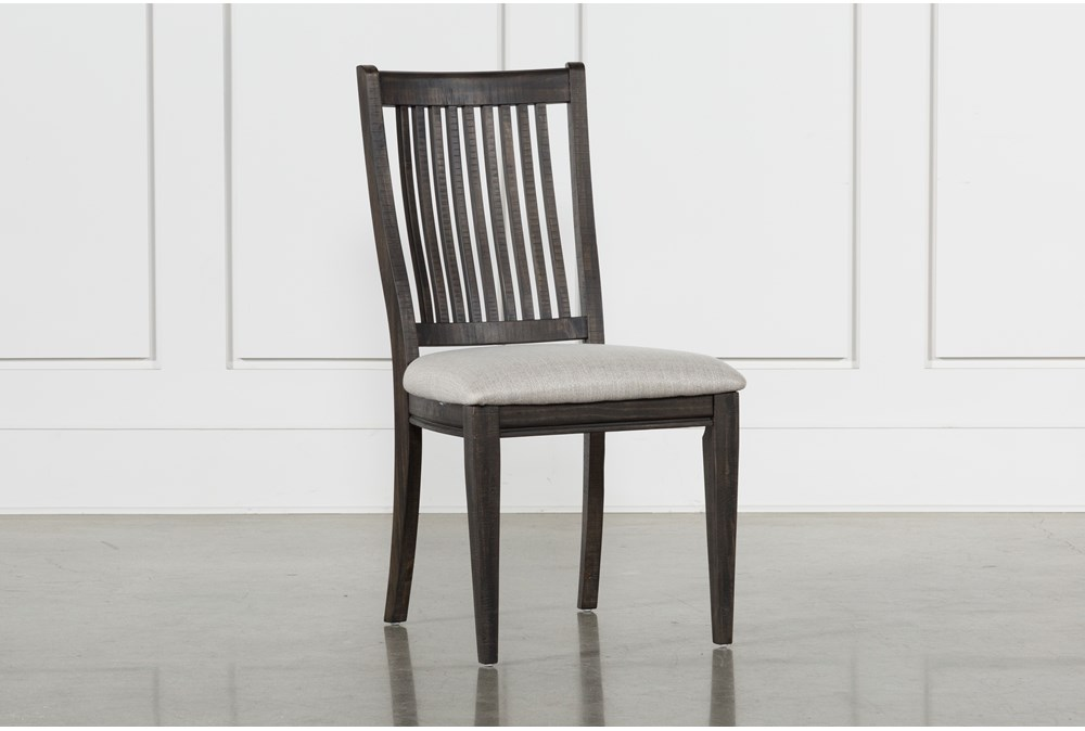 Valencia Dining Side Chair With Upholstered Seat