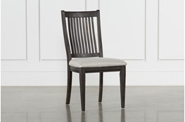 Valencia Side Chair With Upholstered Seat