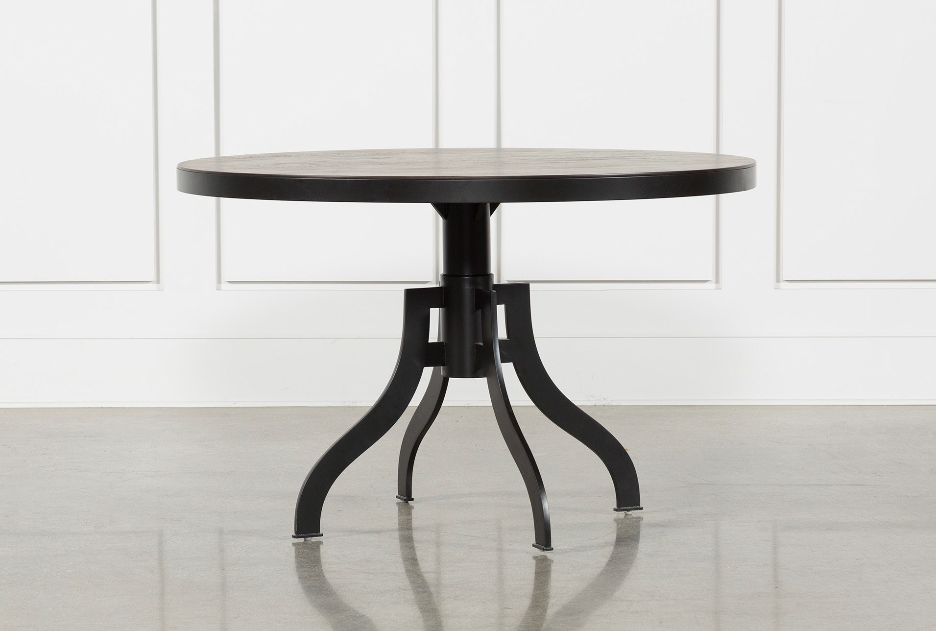Foundry Round Dining Table Living Spaces