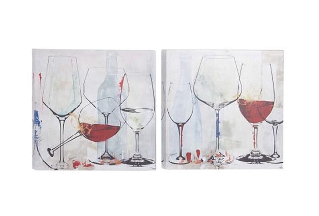 Boho Living Room Patio Wine Glasses