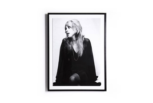 Picture-Stevie Nicks With Black Maple Frame 30X40 - 360