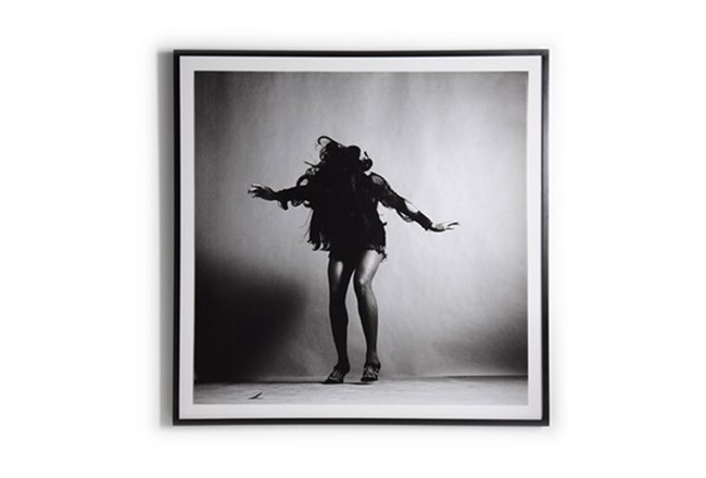 Picture-Tina Turner With Black Maple Frame 18X18 | Living Spaces