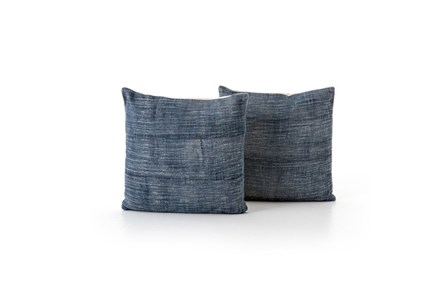 Accent Pillow-Faded Grey Haze 20X20 Set Of 2