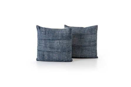 Accent Pillow-Faded Grey Haze 20X20 Set Of 2 - Main