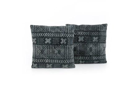 Accent Pillow-Mud Cloth Print 20X20 Set Of 2 - Main