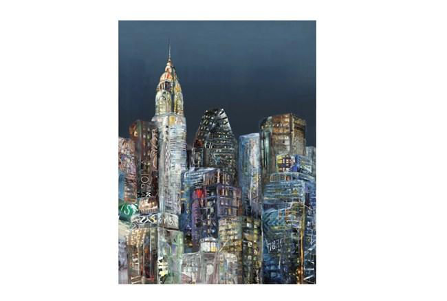 Picture-30X40 Scenic City II - 360