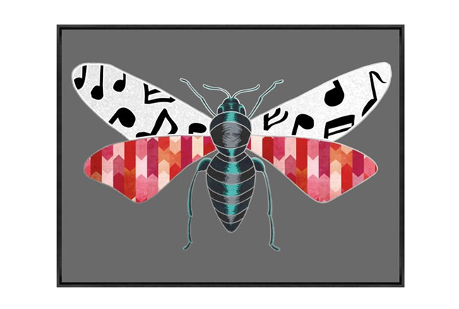 Picture-30X22 Luxe Fly Red - 360