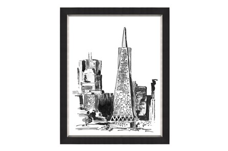 Picture-24X30 San Francisco Black And White
