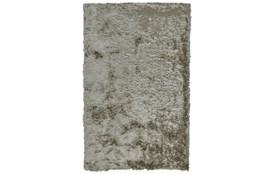 60X96 Rug-Burnout Sheen Shag Silver