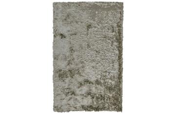 7'x10' Rug-Burnout Sheen Shag Silver