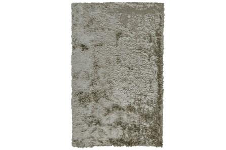 84X120 Rug-Burnout Sheen Shag Silver