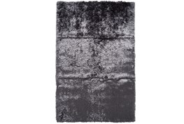 84X120 Rug-Burnout Sheen Shag Slate