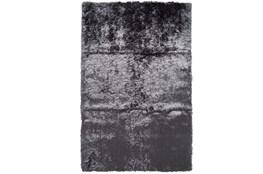 84X120 Rug-Burnout Sheen Shag Slate