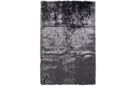 "2'5""x6' Rug-Burnout Sheen Shag Slate"