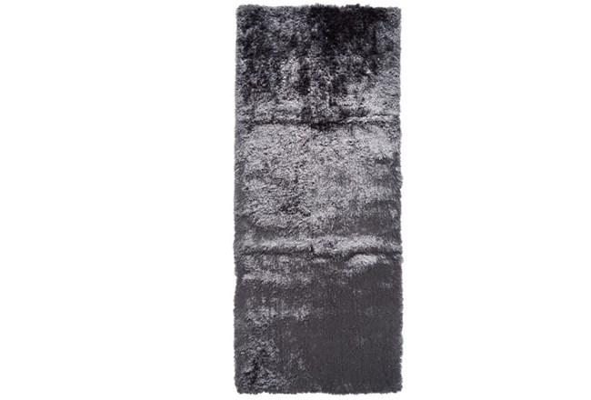 30X120 Rug-Burnout Sheen Shag Slate - 360