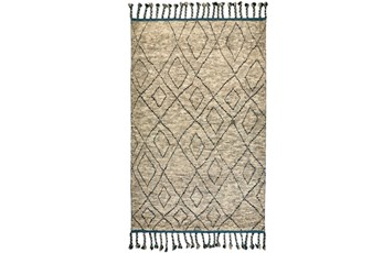 66X102 Rug-Tiller Diamonds Taupe