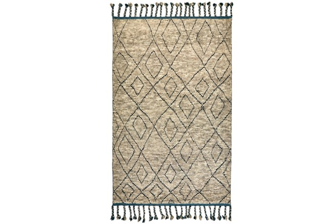 93X117 Rug-Tiller Diamonds Taupe - 360