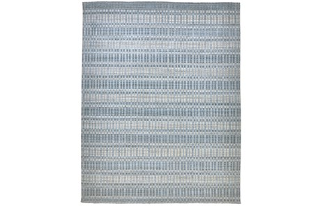 87X111 Rug-Sonoma Banded Blue - Main