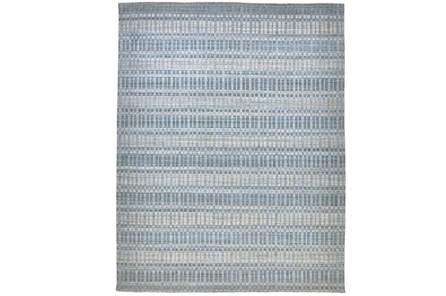 87X111 Rug-Sonoma Banded Blue - Main