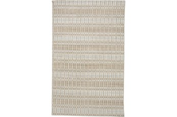 87X111 Rug-Sonoma Banded Tan