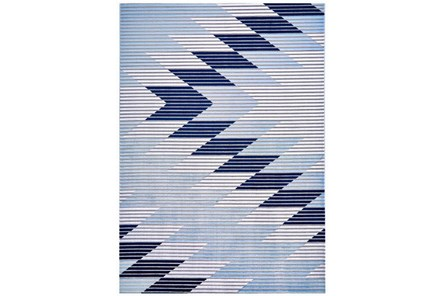 79X114 Rug-Talic Southwest Blue - Main