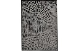 79X114 Rug-Soho Circles Charcoal