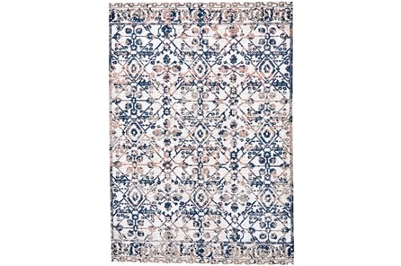 79X114 Rug-Crown Traditional Grey - Main