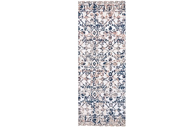 34X96 Rug-Crown Traditional Grey - 360