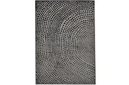 124X162 Rug-Soho Circles Charcoal