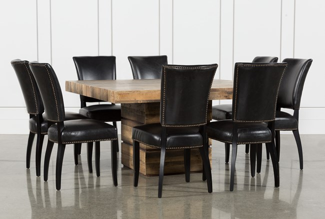 Tahoe II 9 Piece 58 Inch Square Dining Set With Clint Side Chairs - 360
