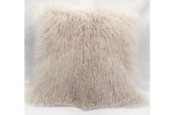 Accent Pillow-Mongolian Lambs Wool Ivory 18X18
