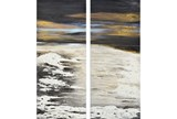 Picture-2 Piece Midnight Waves 25X60 - Signature