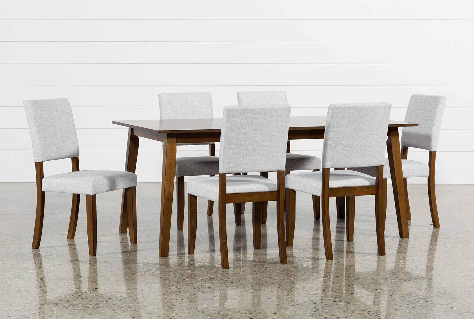 7 piece dining set marble top cora piece dining set qty 1 has been successfully added to your cart living spaces