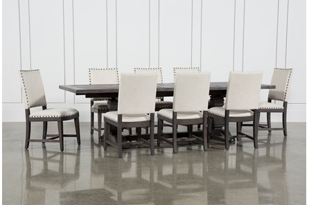 Norwood 9 Piece Rectangular Extension Dining Set With Uph Side Chairs - Main