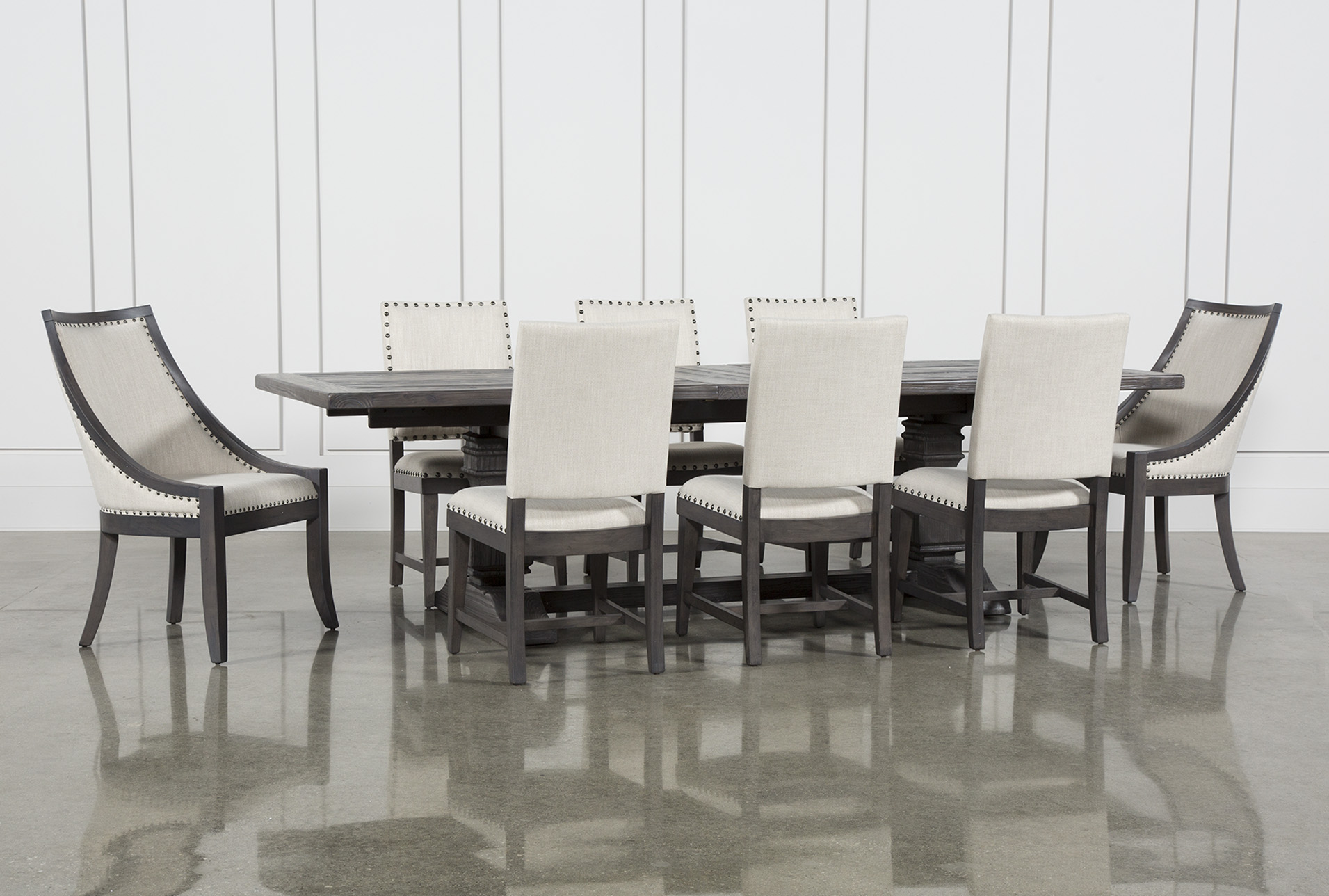 Living spaces dining table set