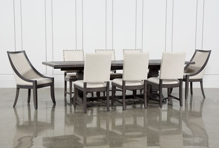 Norwood 9 Piece Rectangle Extension Dining Set