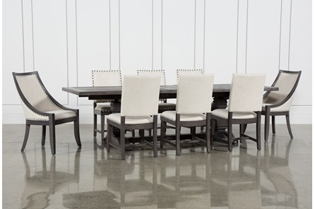 Norwood 9 Piece Rectangle Extension Dining Set - Main