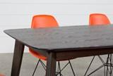 Swift 7 Piece Rectangular Dining Set With Alexa Firecracker Side Chairs - Material