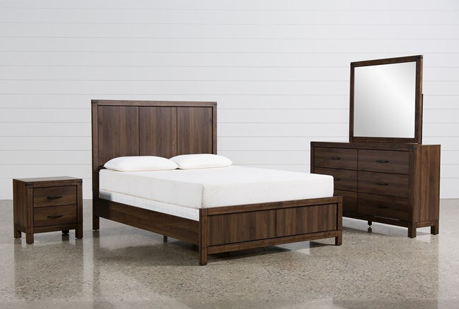 Willow Creek California King 4 Piece Bedroom Set - 360