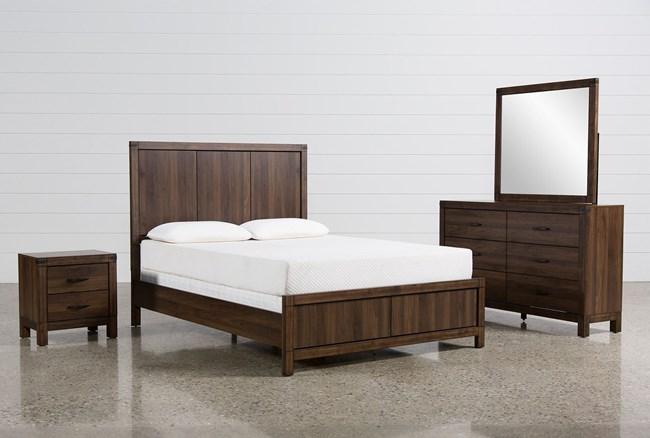 Willow Creek California King 4 Piece Bedroom Set - 360