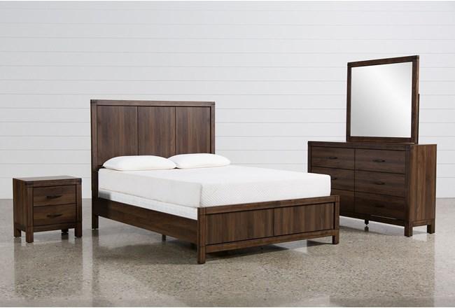 Willow Creek Full 4 Piece Bedroom Set - 360