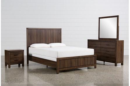 Willow Creek Eastern King 4 Piece Bedroom Set - Main
