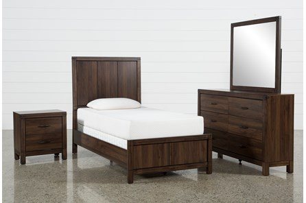 Willow Creek Twin 4 Piece Bedroom Set - Main