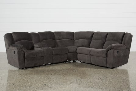 Timpson 2 Piece Reclining Sectional